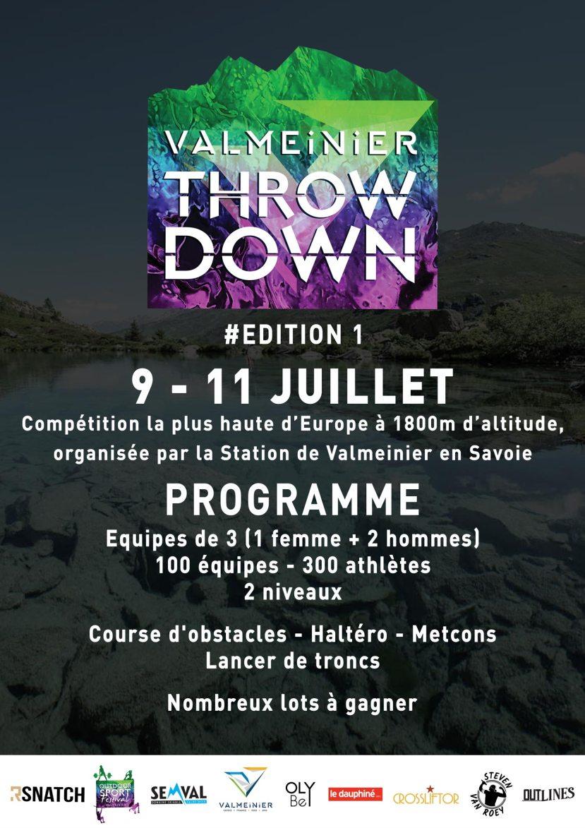valmeinier throwdown competition crossfit